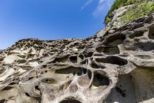 竜串海岸の様々な奇岩風景の写真素材 [FYI04671261]
