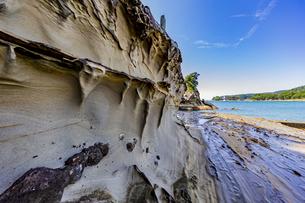 竜串海岸の様々な奇岩風景の写真素材 [FYI04671279]