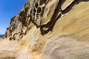 竜串海岸の様々な奇岩風景の写真素材 [FYI04671285]