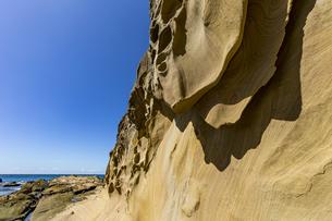 竜串海岸の様々な奇岩風景の写真素材 [FYI04671287]