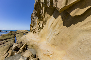 竜串海岸の様々な奇岩風景の写真素材 [FYI04671291]
