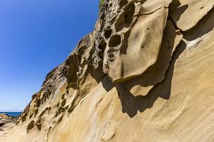 竜串海岸の様々な奇岩風景の写真素材 [FYI04671294]