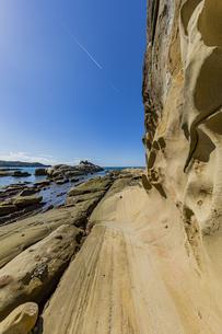竜串海岸の様々な奇岩風景の写真素材 [FYI04671295]