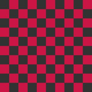 市松模様 グレー×ピンク Lのイラスト素材 [FYI04671314]