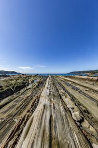 竜串海岸の様々な奇岩風景の写真素材 [FYI04671339]