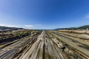 竜串海岸の様々な奇岩風景の写真素材 [FYI04671340]
