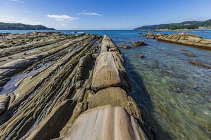 竜串海岸の様々な奇岩風景の写真素材 [FYI04671341]