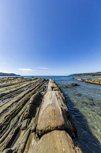 竜串海岸の様々な奇岩風景の写真素材 [FYI04671343]