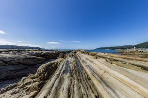 竜串海岸の様々な奇岩風景の写真素材 [FYI04671344]