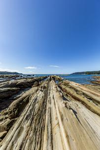 竜串海岸の様々な奇岩風景の写真素材 [FYI04671345]