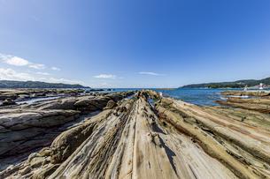 竜串海岸の様々な奇岩風景の写真素材 [FYI04671347]