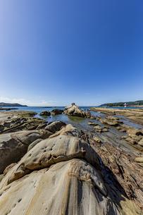 竜串海岸の様々な奇岩風景の写真素材 [FYI04671349]