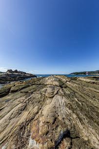 竜串海岸の様々な奇岩風景の写真素材 [FYI04671350]