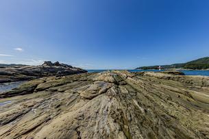 竜串海岸の様々な奇岩風景の写真素材 [FYI04671351]
