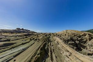 竜串海岸の様々な奇岩風景の写真素材 [FYI04671353]