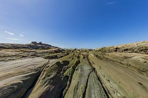 竜串海岸の様々な奇岩風景の写真素材 [FYI04671355]
