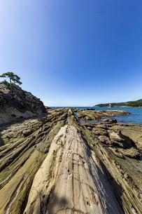 竜串海岸の様々な奇岩風景の写真素材 [FYI04671357]