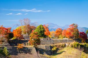 岡城から九重連山を望むの写真素材 [FYI04671494]