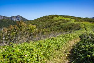 摩周岳の登山道の写真素材 [FYI04671675]