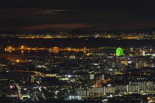 あべのハルカス 展望台からの夜景 ②の写真素材 [FYI04672165]