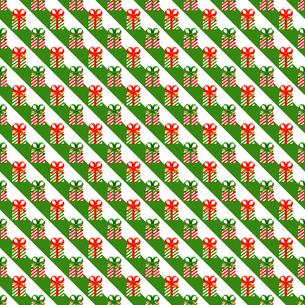 クリスマス パターン素材 プレゼントボックス (1_3)のイラスト素材 [FYI04672187]