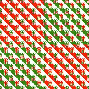 クリスマス パターン素材 プレゼントボックス (1_4)のイラスト素材 [FYI04672188]