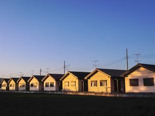 並ぶ戸建て住宅の写真素材 [FYI04672422]