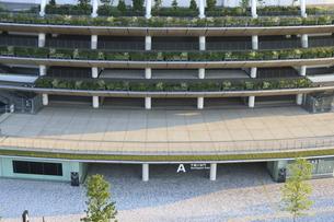 国立競技樹の千駄ヶ谷門ゲートAの写真素材 [FYI04672811]