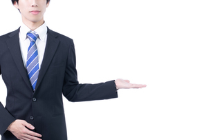 若い日本人男性ビジネスマンの写真素材 [FYI04672933]