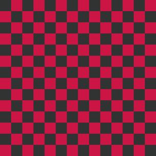 市松模様 グレー×ピンク Mのイラスト素材 [FYI04673188]