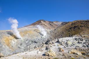 旭岳の噴気孔の写真素材 [FYI04673218]
