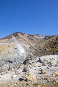 旭岳の噴気孔の写真素材 [FYI04673219]
