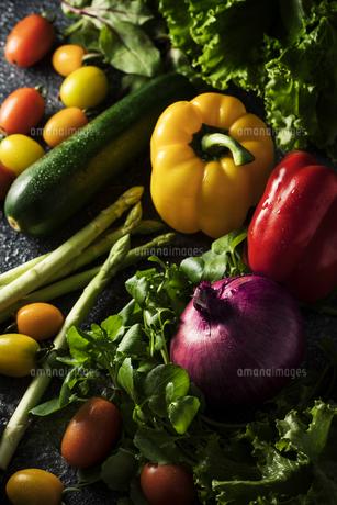 たくさんの野菜イメージの写真素材 [FYI04673459]