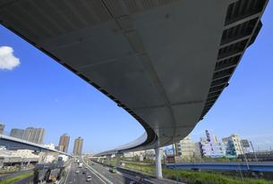 首都高速道路湾岸線の写真素材 [FYI04673632]