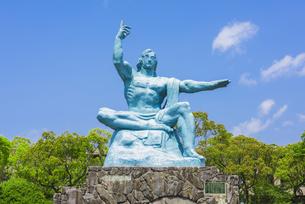 平和祈念像の写真素材 [FYI04673769]