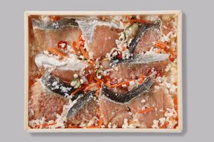 鮭の飯寿司の写真素材 [FYI04674115]