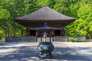 福島県 白水阿弥陀堂の写真素材 [FYI04674206]