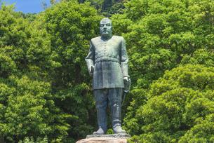 西郷隆盛銅像の写真素材 [FYI04674371]