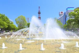 札幌大通り公園の写真素材 [FYI04674375]