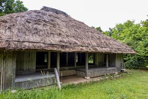 築150年以上と言われる新盛家住宅の写真素材 [FYI04674492]