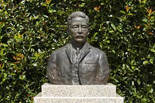 夏目漱石像の写真素材 [FYI04674760]