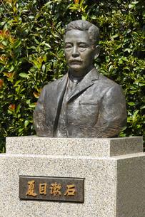 夏目漱石像の写真素材 [FYI04674761]