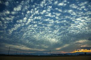 秋の空の写真素材 [FYI04674826]