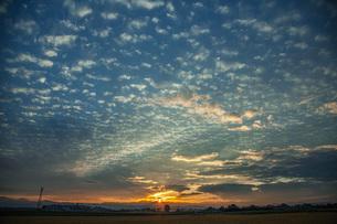 秋の空の写真素材 [FYI04674830]