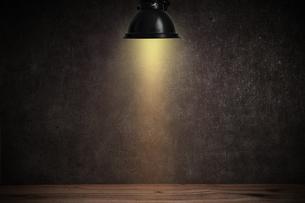 コンクリート壁のスポットライトの背景グラフィックス素材のイラスト素材 [FYI04674944]