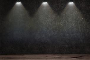 コンクリート壁のスポットライトの背景グラフィックス素材のイラスト素材 [FYI04674947]