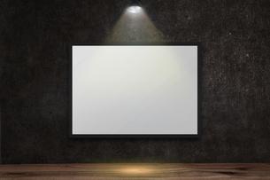 コンクリート壁のスポットライトの背景グラフィックス素材のイラスト素材 [FYI04674964]