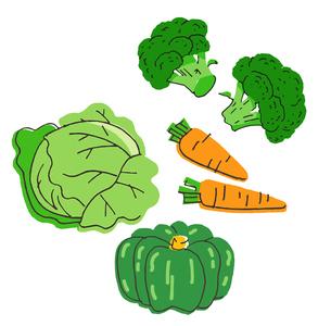 野菜 いろいろのイラスト素材 [FYI04674991]
