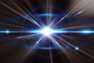輝く放射光と放射線のアブストラクトのグラフィックスのイラスト素材 [FYI04675408]
