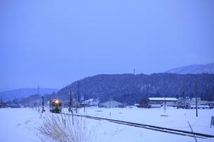 飯山線の写真素材 [FYI04675976]